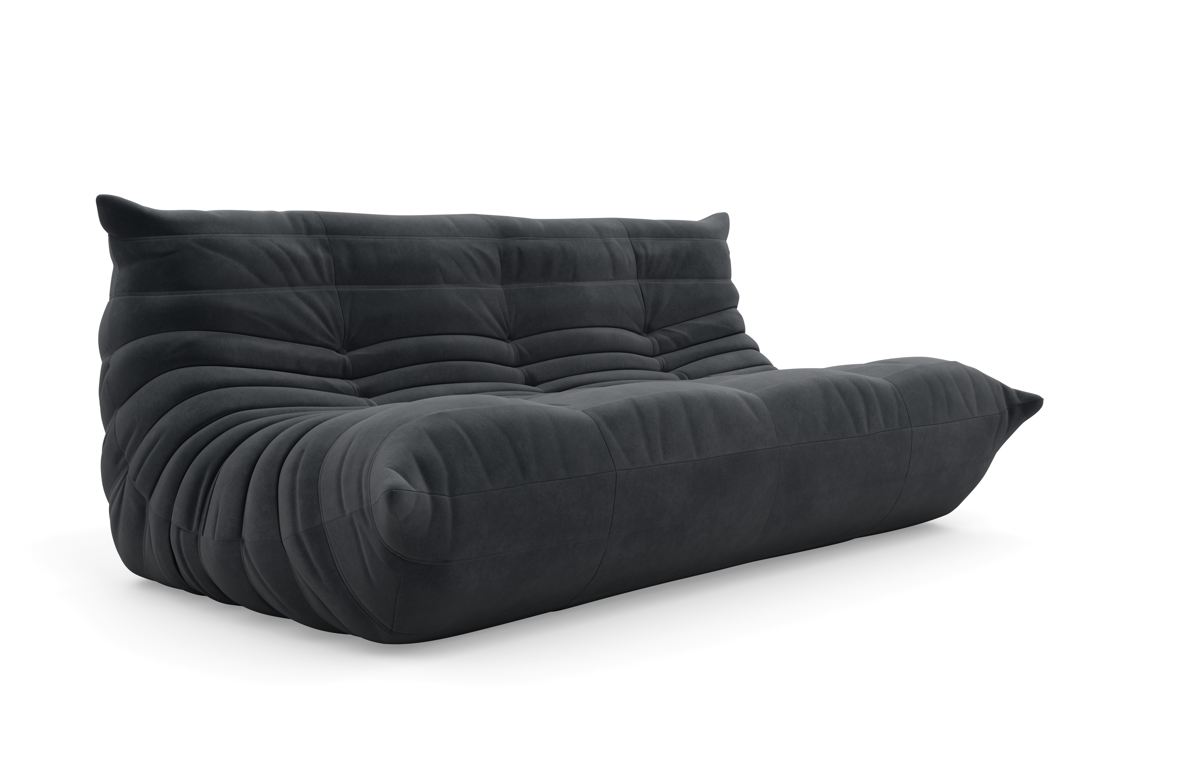 ligne roset sofa vintage black leather togo sofa set by michel ducaroy for ligne thesofa. Black Bedroom Furniture Sets. Home Design Ideas