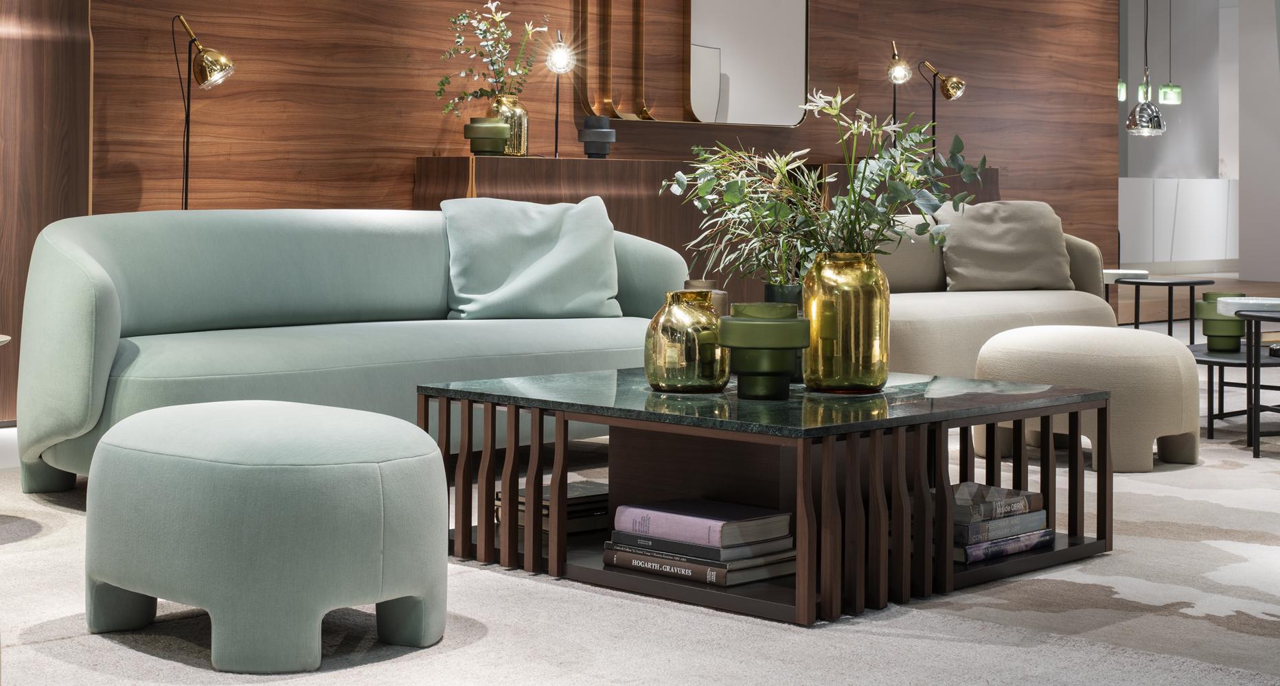 Salon du meuble de Cologne.  Ligne Roset