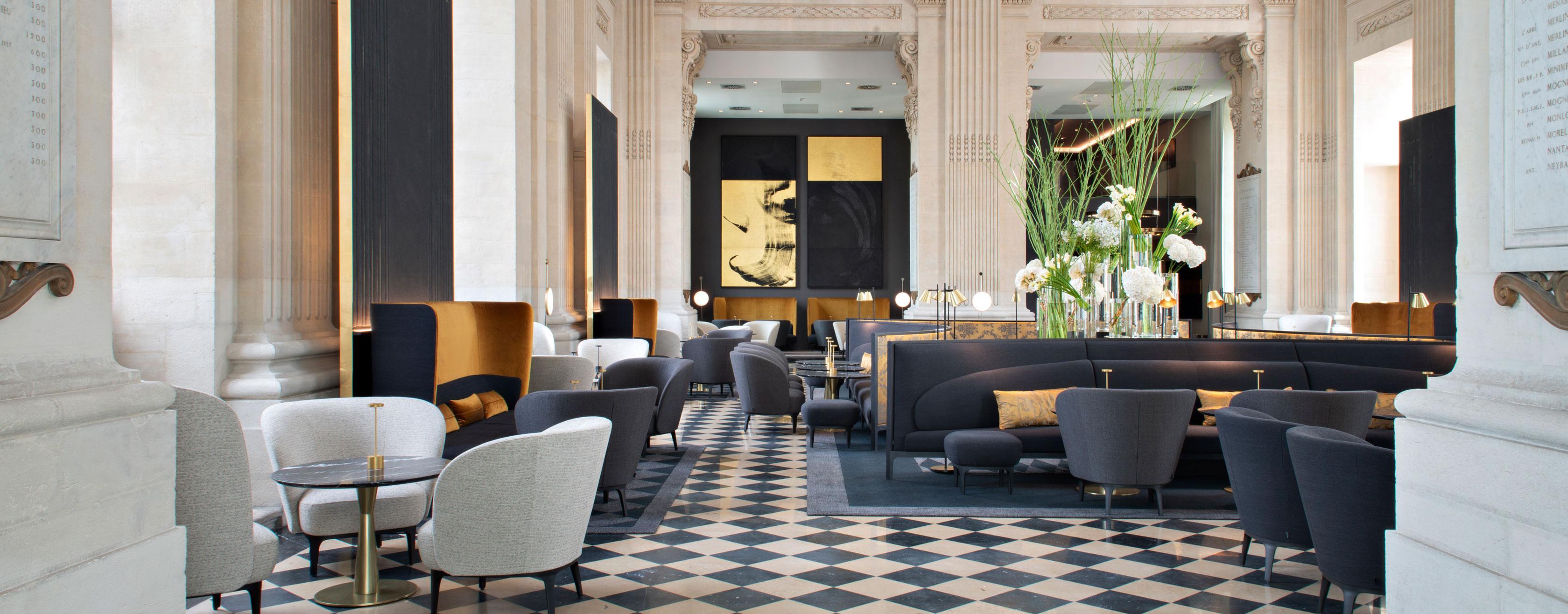 Ouverture de l'Intercontinental Lyon Hôtel Dieu Ligne Roset