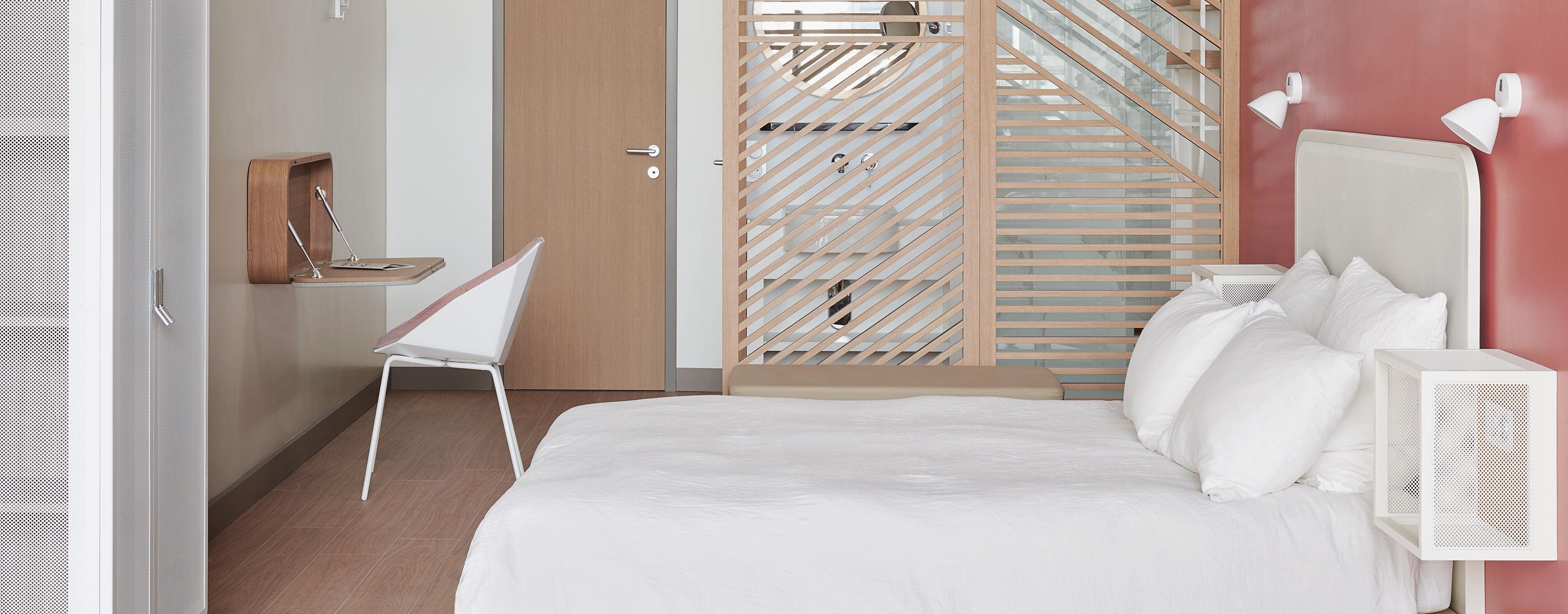 New bedroom concept Okko Hotels Ligne Roset