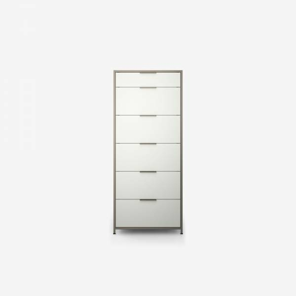 CHEST OF DRAWERS 6 DRAWERS PERLE LACQUER Ligne Roset
