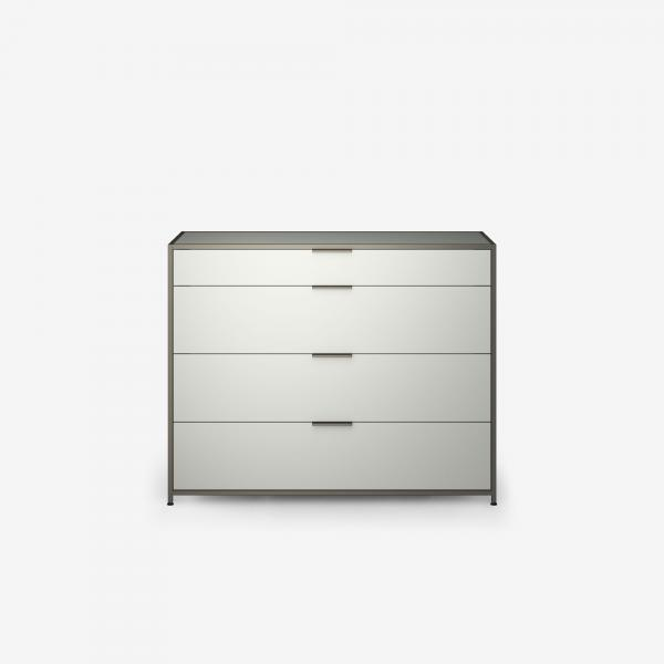 SIDEBOARD UNIT 4 DRAWERS PERLE LACQUER Ligne Roset