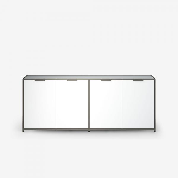 SIDEBOARD 4 DOORS WHITE LACQUER Ligne Roset