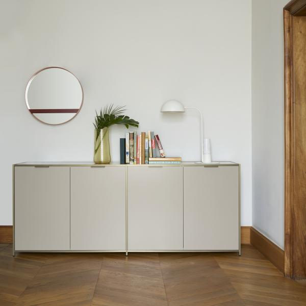 SIDEBOARD 4 DOORS PERLE LACQUER Ligne Roset