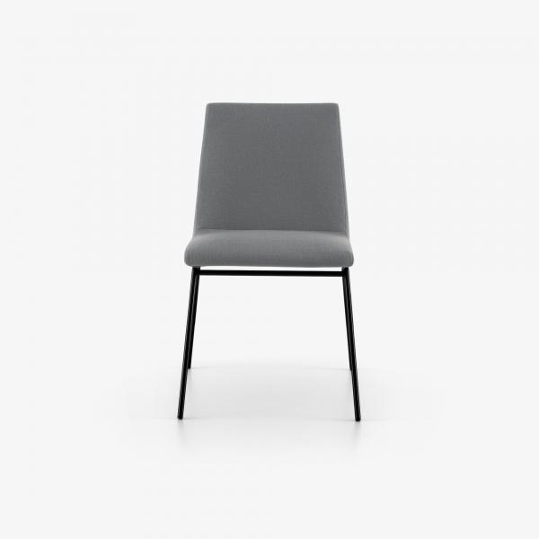 CHAIR BASE IN SATIN-FINISH BLACK LACQUER Ligne Roset
