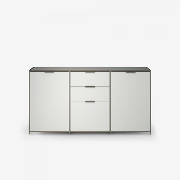 SIDEBOARD 2 DOORS + 3 DRAWERS PERLE LACQUER Ligne Roset