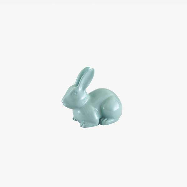 MINI PAN PAN DECORATIVE RABBIT PASTEL TURQUOISE Ligne Roset