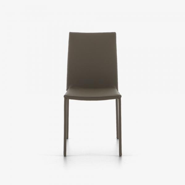 DINING CHAIR GREY LEATHER Ligne Roset