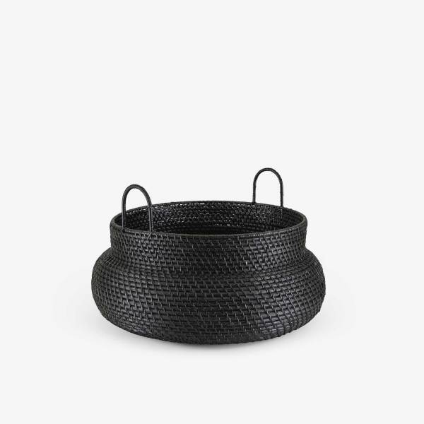 BASKET LOW VERSION BLACK Ligne Roset