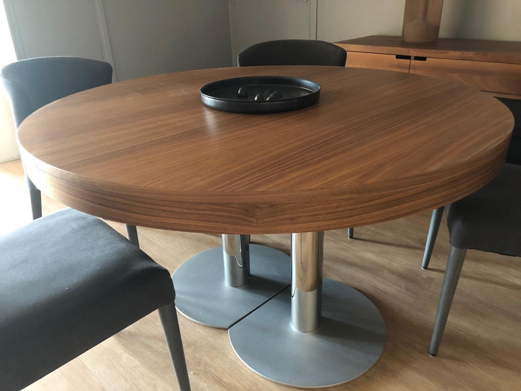 TABLE RONDE CRAFT Ligne Roset