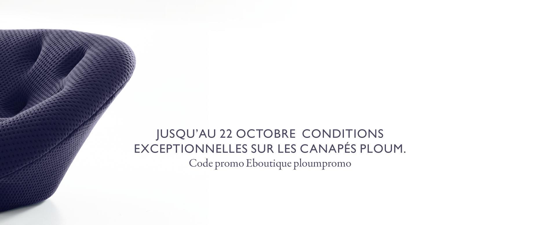 PLOUM 21-09 AU 22-10-2018 Ligne Roset