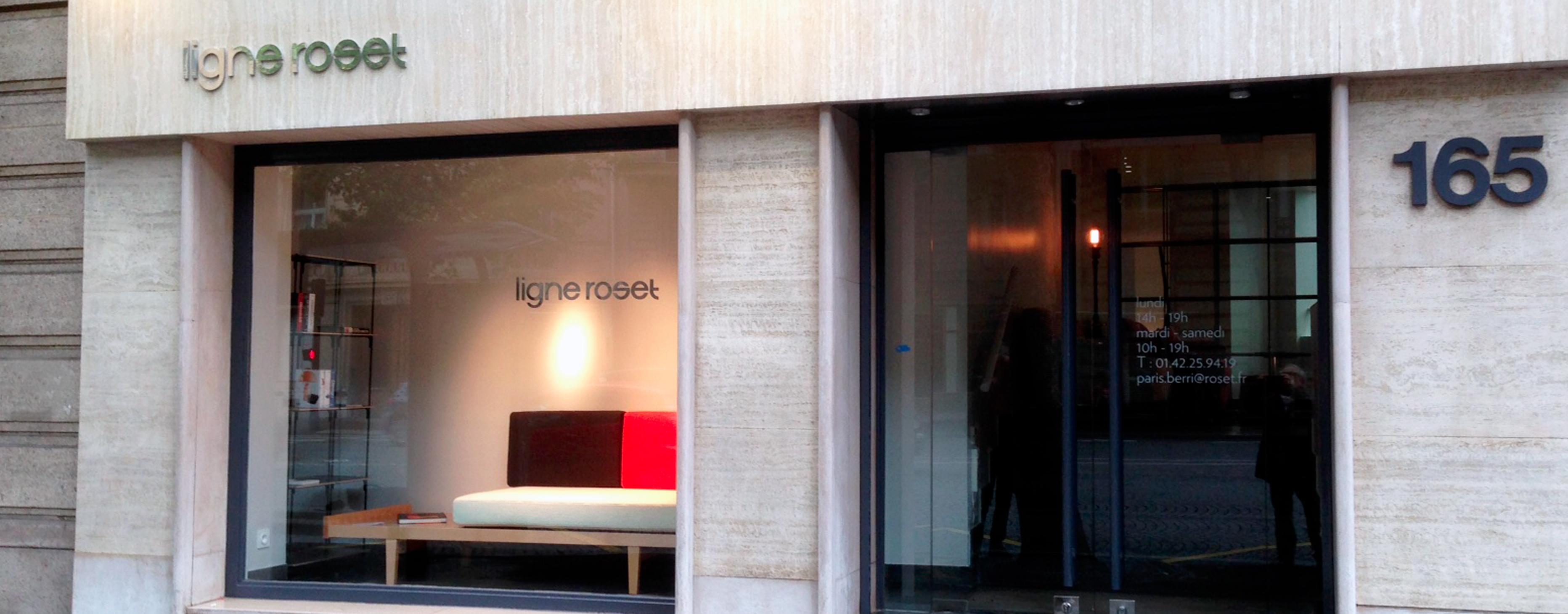Nouveau magasin rue de Berri Paris 8ème Ligne Roset