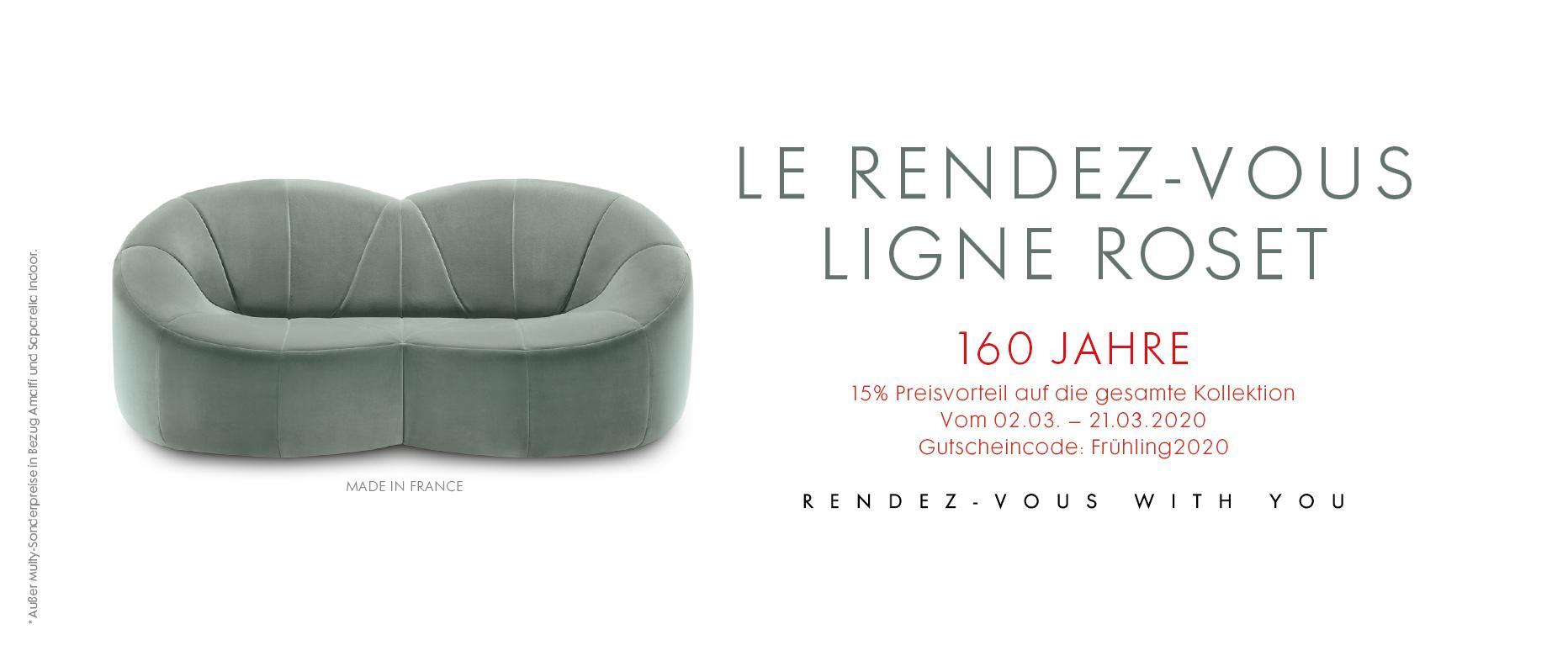 THE LIGNE ROSET RENDEZ-VOUS Ligne Roset