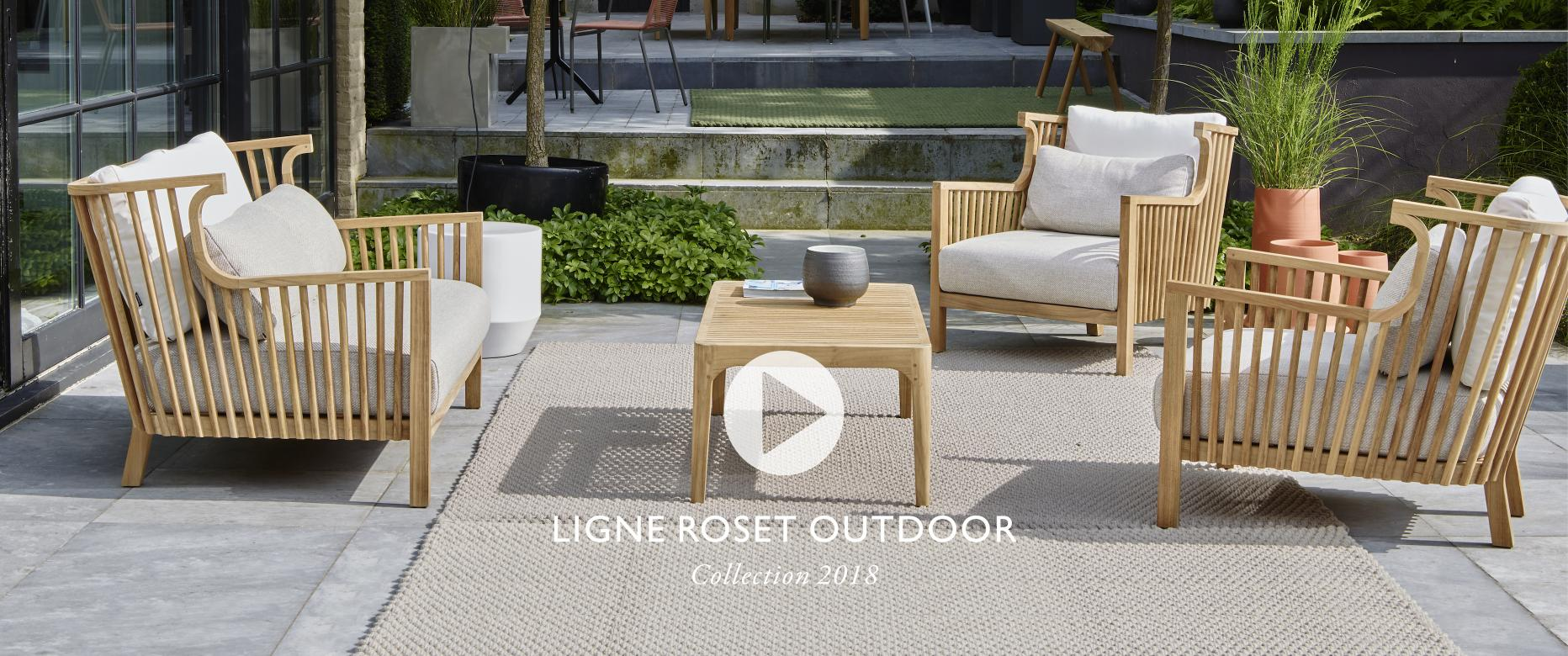 Collection Outdoor 2018 Ligne Roset