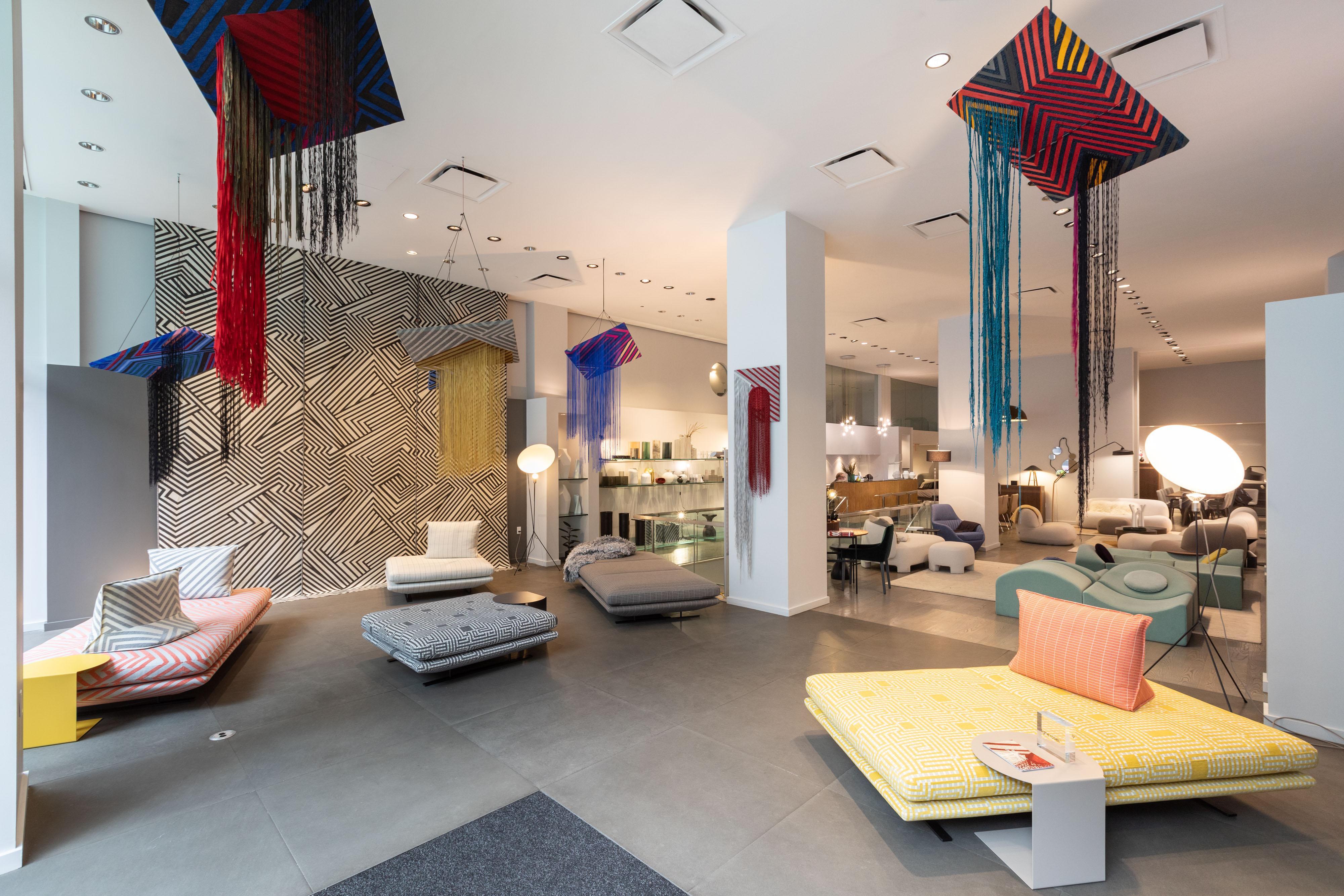 Dynamic Expansion: Art & Design Exhibition by Liz Collins Ligne Roset