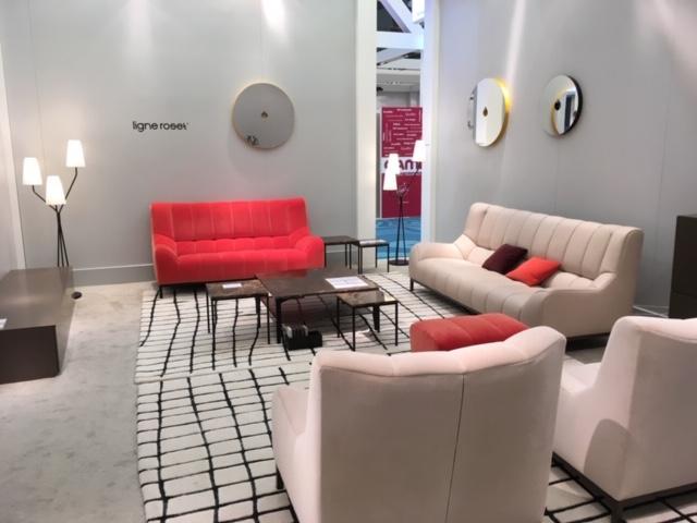 Ligne Roset booth at Furniture China 2019 Ligne Roset