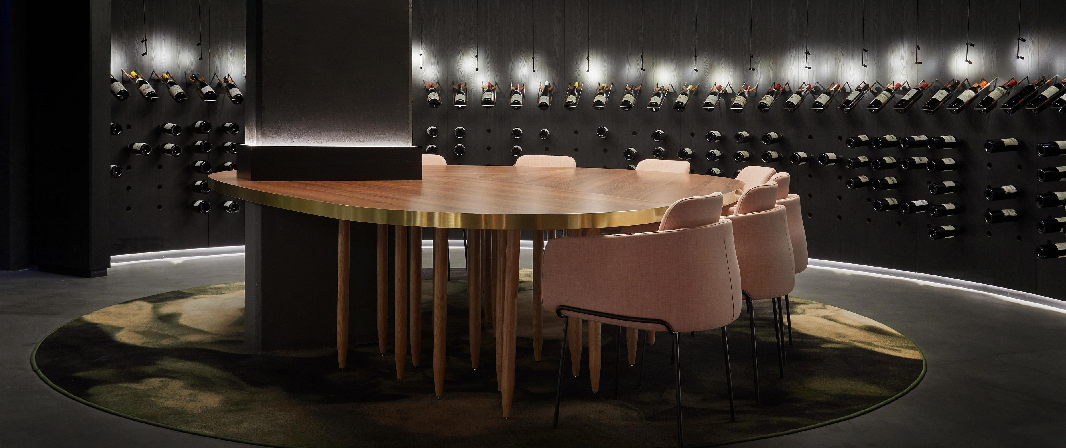 Contract project - Allénothèque Restaurant Ligne Roset