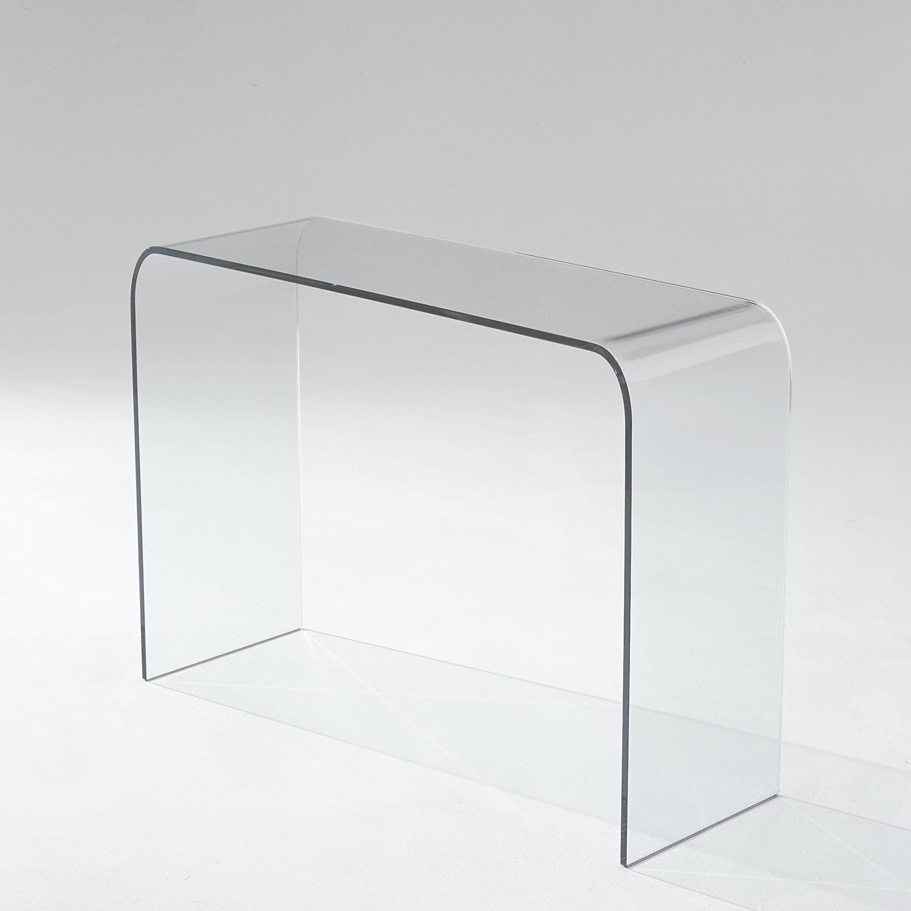 CONSOLE TABLE CLEAR GLASS  Ligne Roset