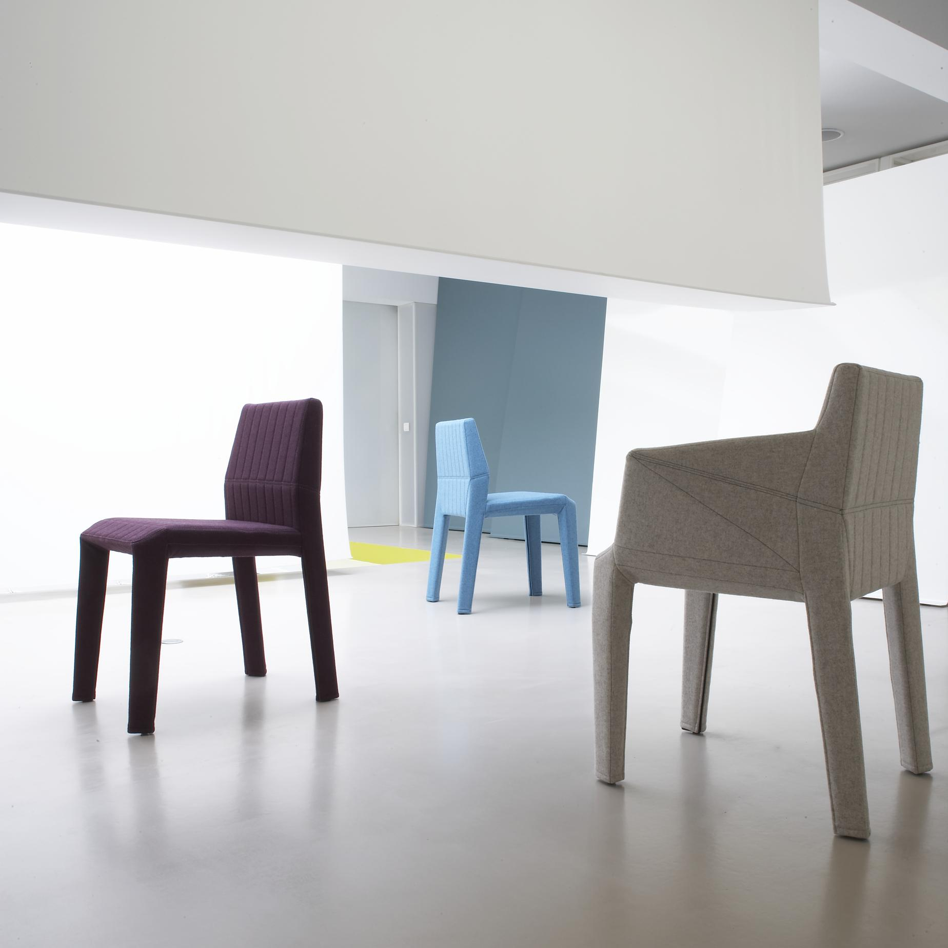 facett chairs from designer r e bouroullec ligne roset official site. Black Bedroom Furniture Sets. Home Design Ideas