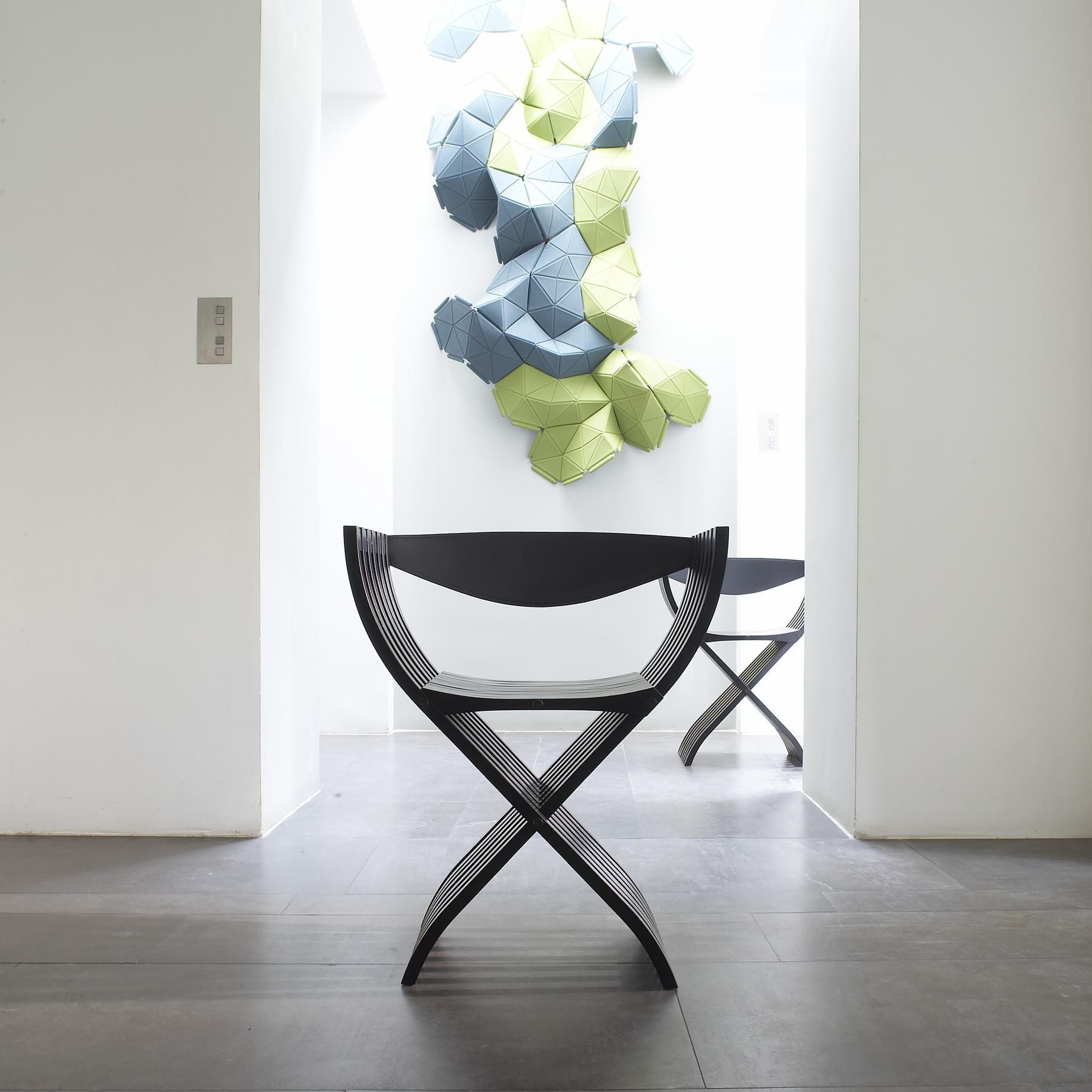 Curule Chairs From Designer Pierre Paulin Ligne Roset