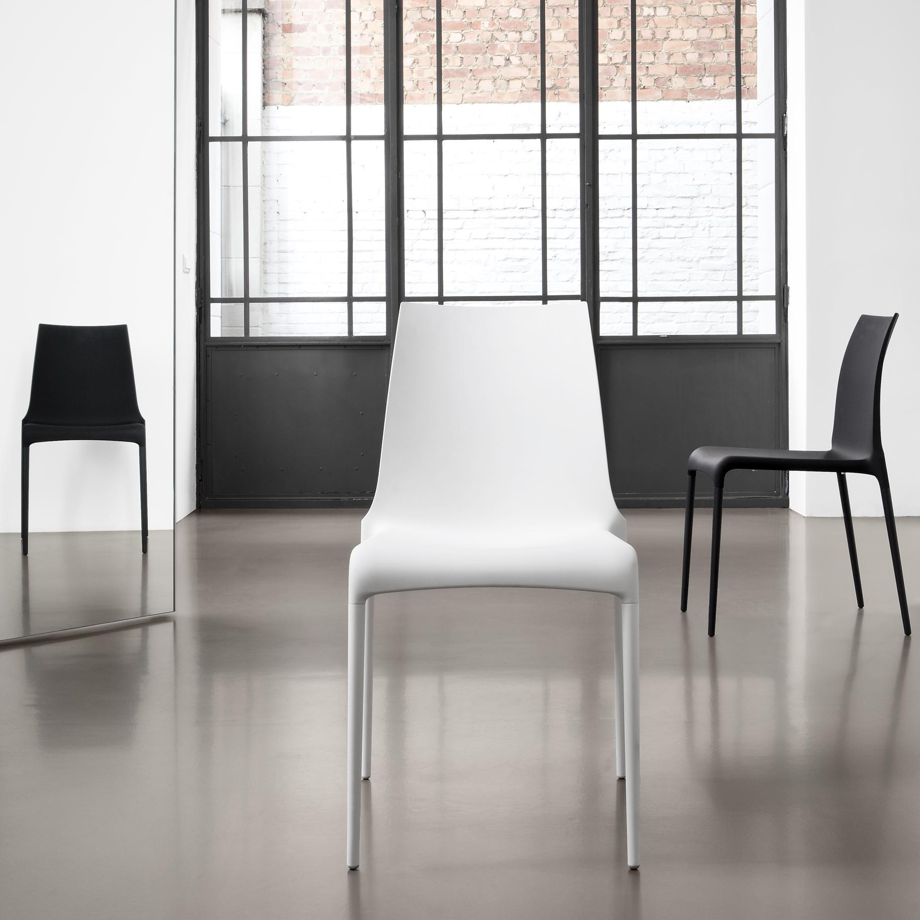DINING CHAIR WHITE INDOOR / OUTDOOR Ligne Roset