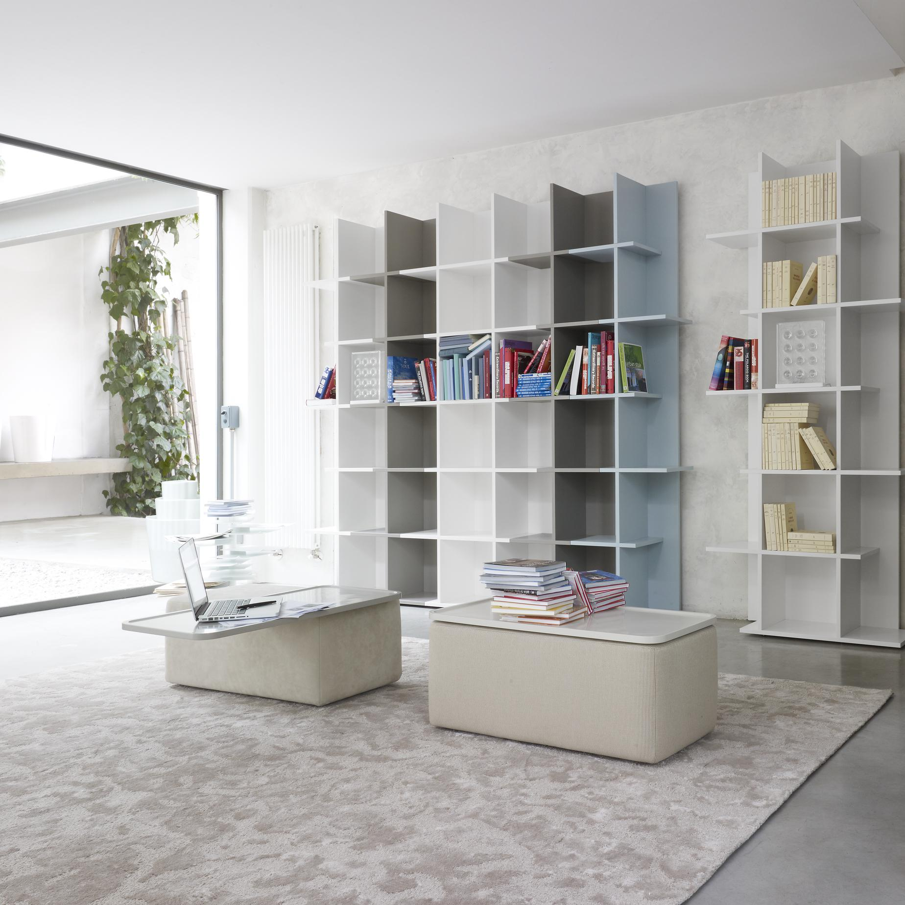 Home Office Library Design Ideas: Shelving From Designer : Kazuko Okamoto