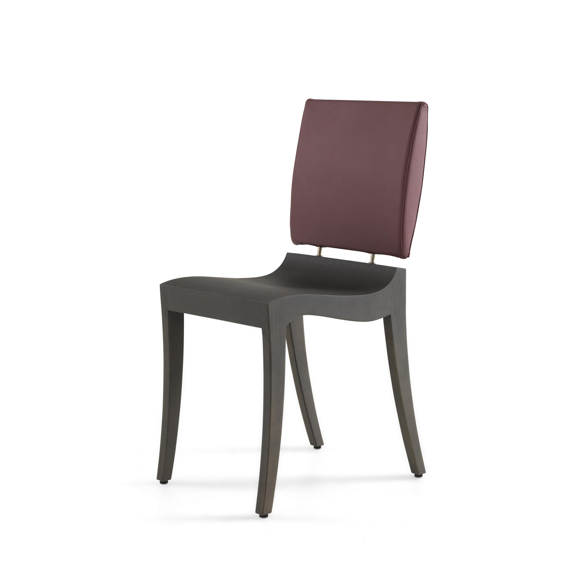 DINING CHAIR EBONY-STAINED OAK  Ligne Roset