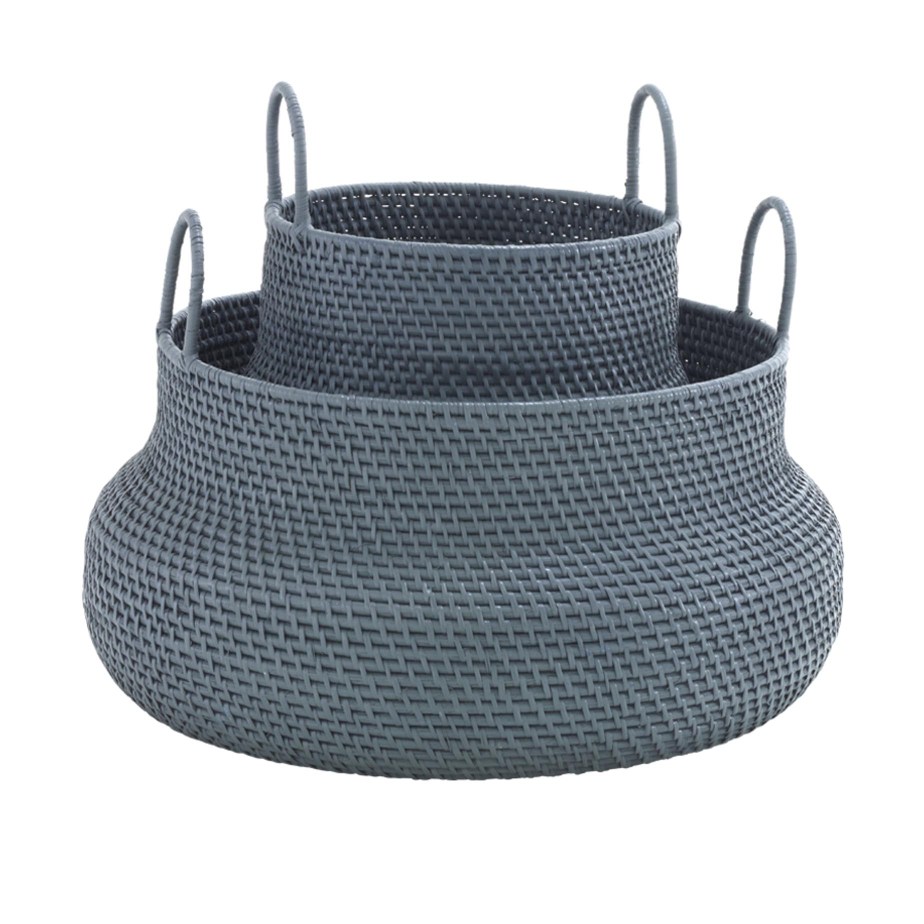 BASKET LOW VERSION GREY Ligne Roset