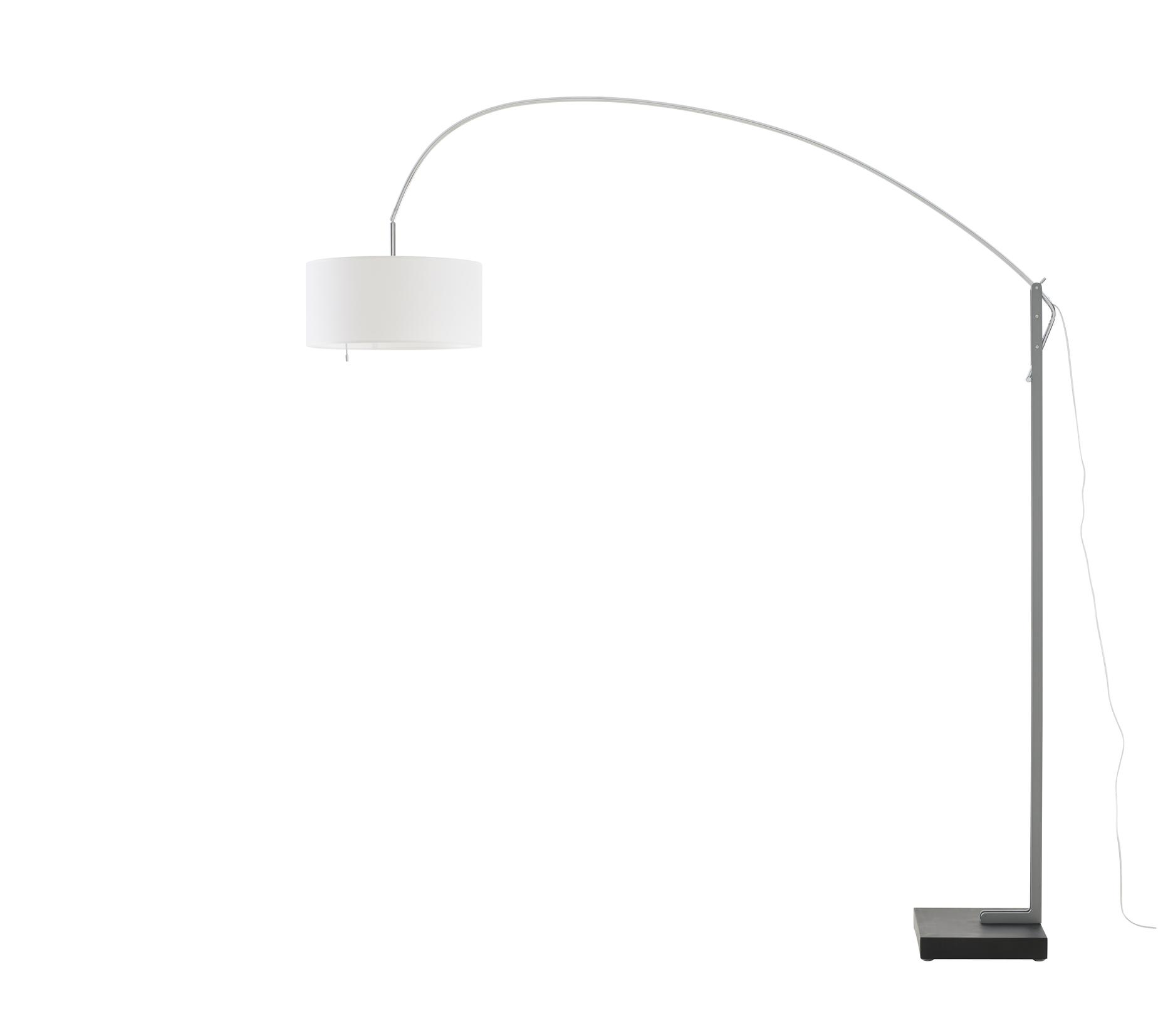 ligne roset mama floor lamp white shade by thibault. Black Bedroom Furniture Sets. Home Design Ideas