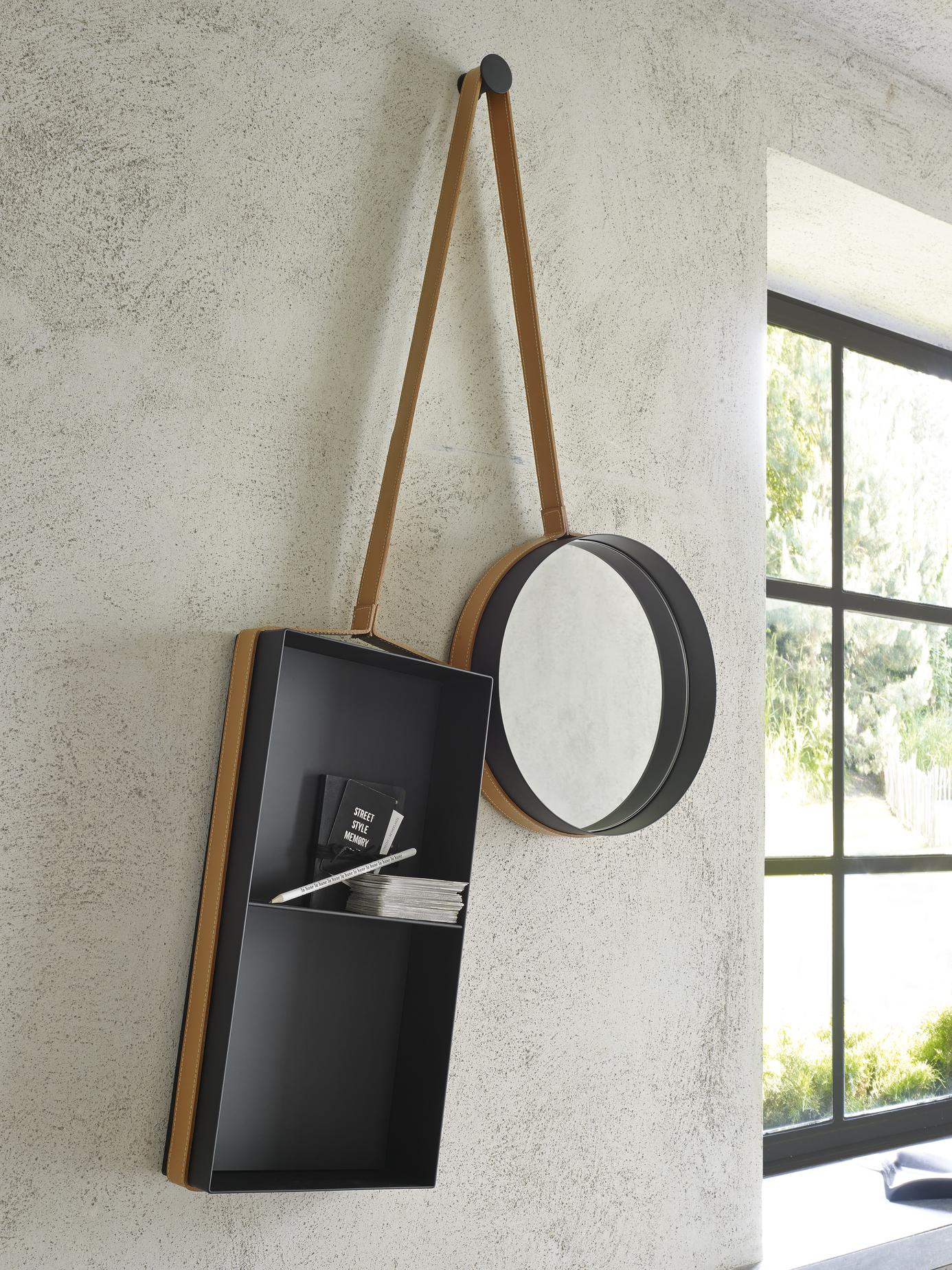 MIRROR: VANITY SHELF Ligne Roset