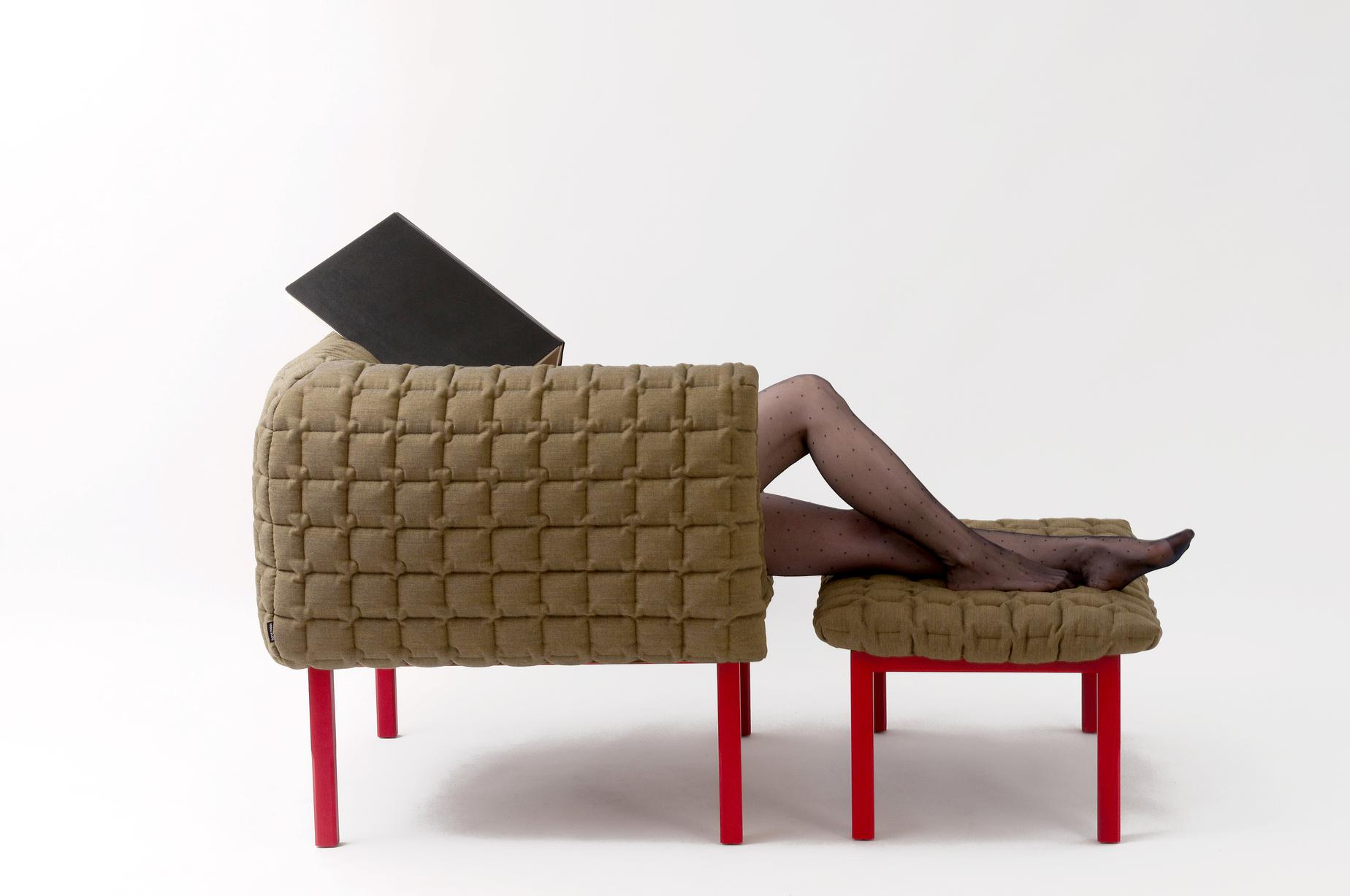 ruch armchairs from designer inga semp ligne roset official site. Black Bedroom Furniture Sets. Home Design Ideas