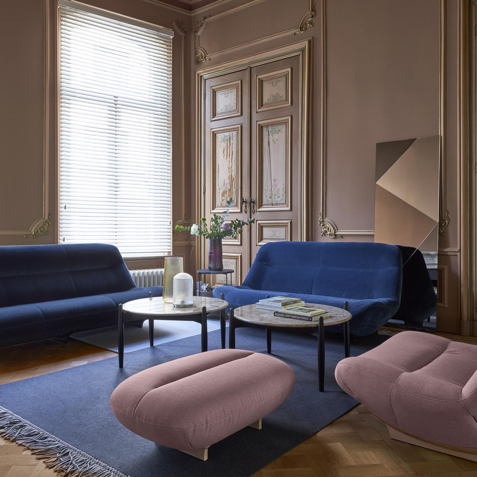 Manarola sofas from designer philippe nigro ligne for Trendy living room chairs