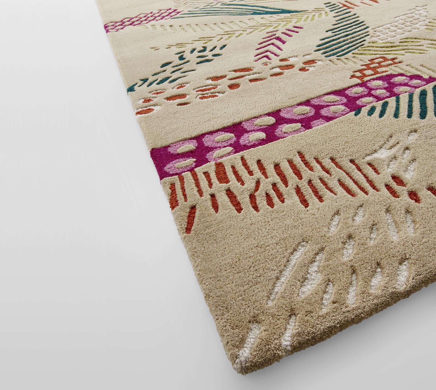 Jungle Rugs From Designer M A Stiker Metral Ligne Roset