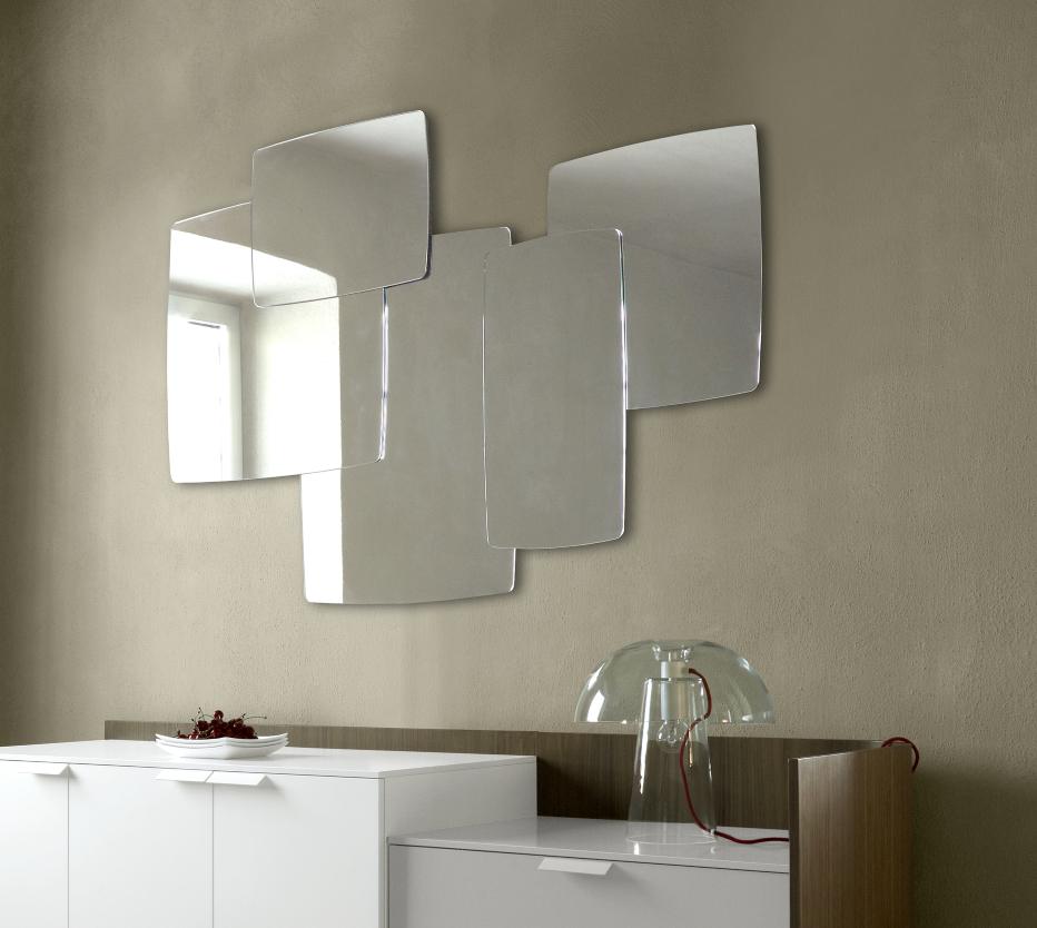 mirror biscuit entry from designer michael koenig. Black Bedroom Furniture Sets. Home Design Ideas