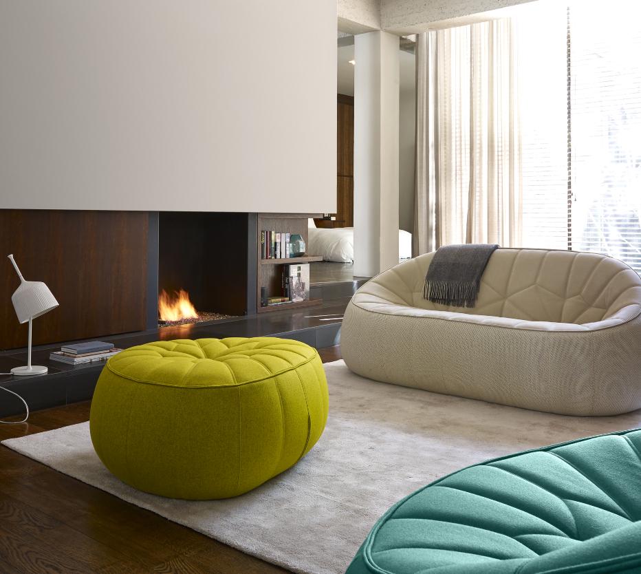 Ottoman sofas designer no duchaufour lawrance ligne for Canape lit ligne roset