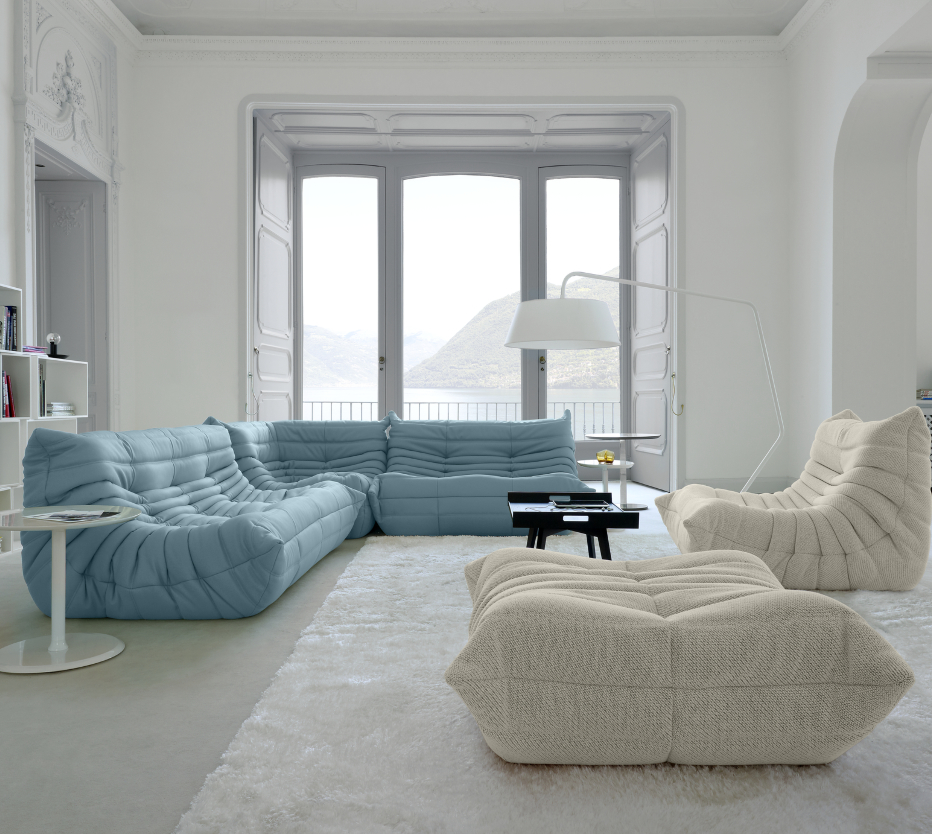togo sofas from designer michel ducaroy ligne roset. Black Bedroom Furniture Sets. Home Design Ideas