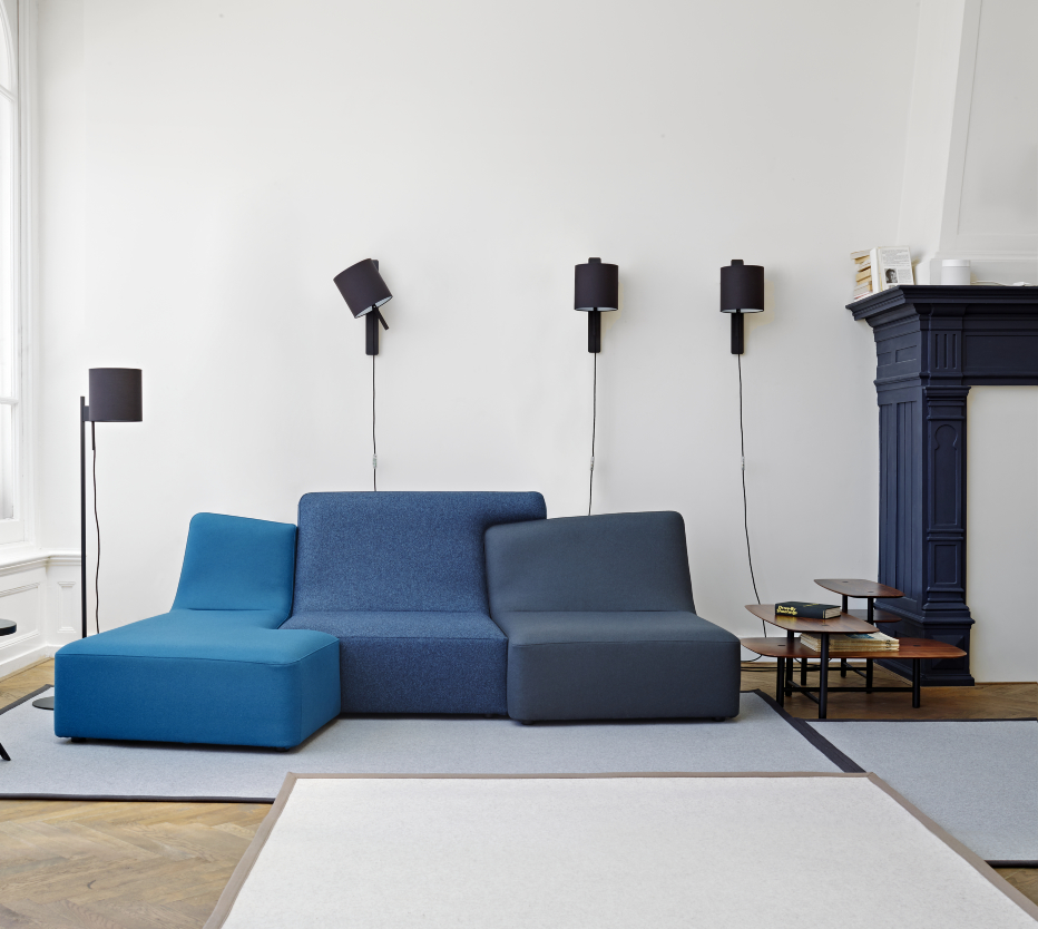 confluences sofas from designer philippe nigro ligne roset official site. Black Bedroom Furniture Sets. Home Design Ideas