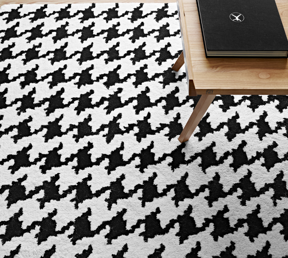 pied de coq tapis du designer ligne roset site officiel. Black Bedroom Furniture Sets. Home Design Ideas