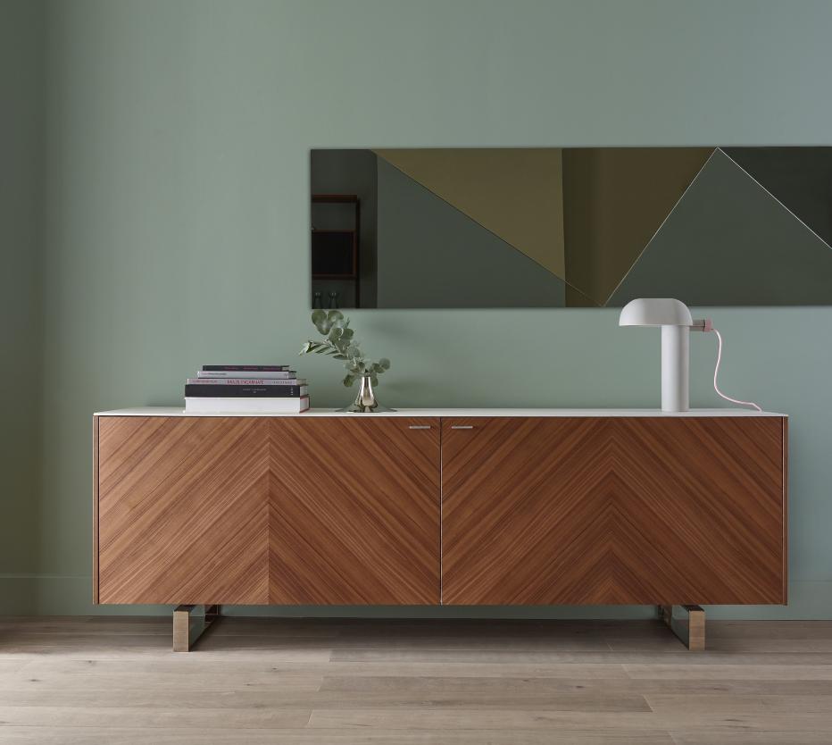 miroir ombr entr e du designer busetti garuti. Black Bedroom Furniture Sets. Home Design Ideas