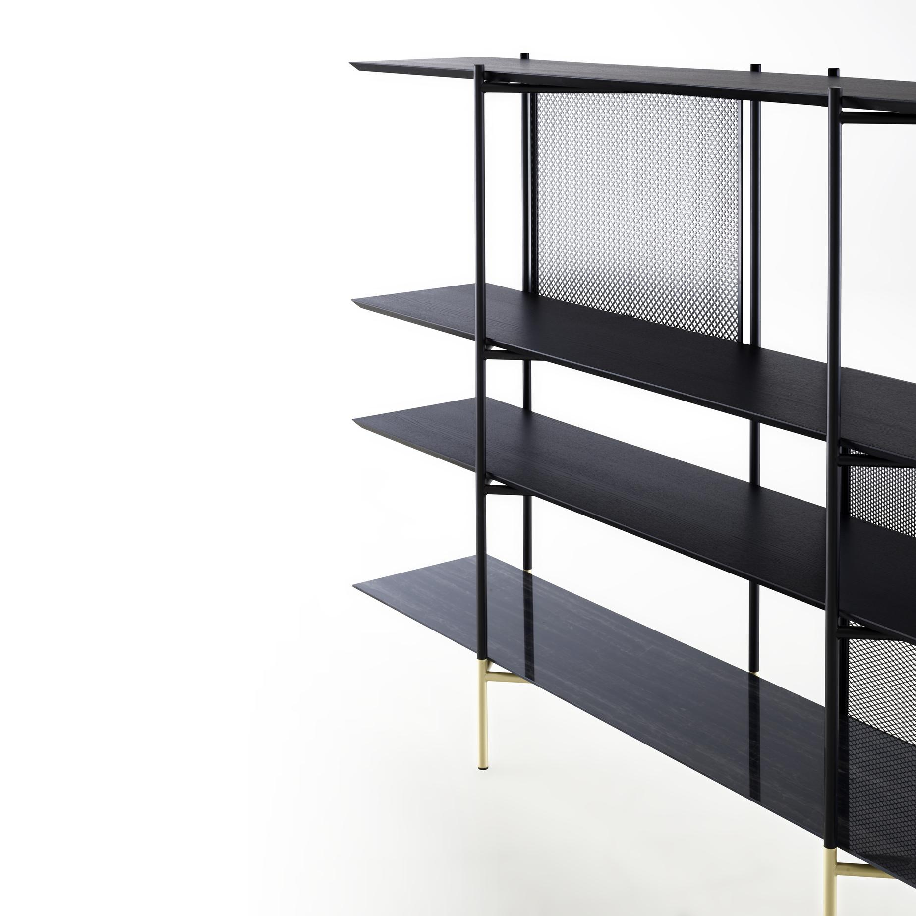 Blennemann Duisburg clyde, shelving units from designer : numéro111 | ligne roset
