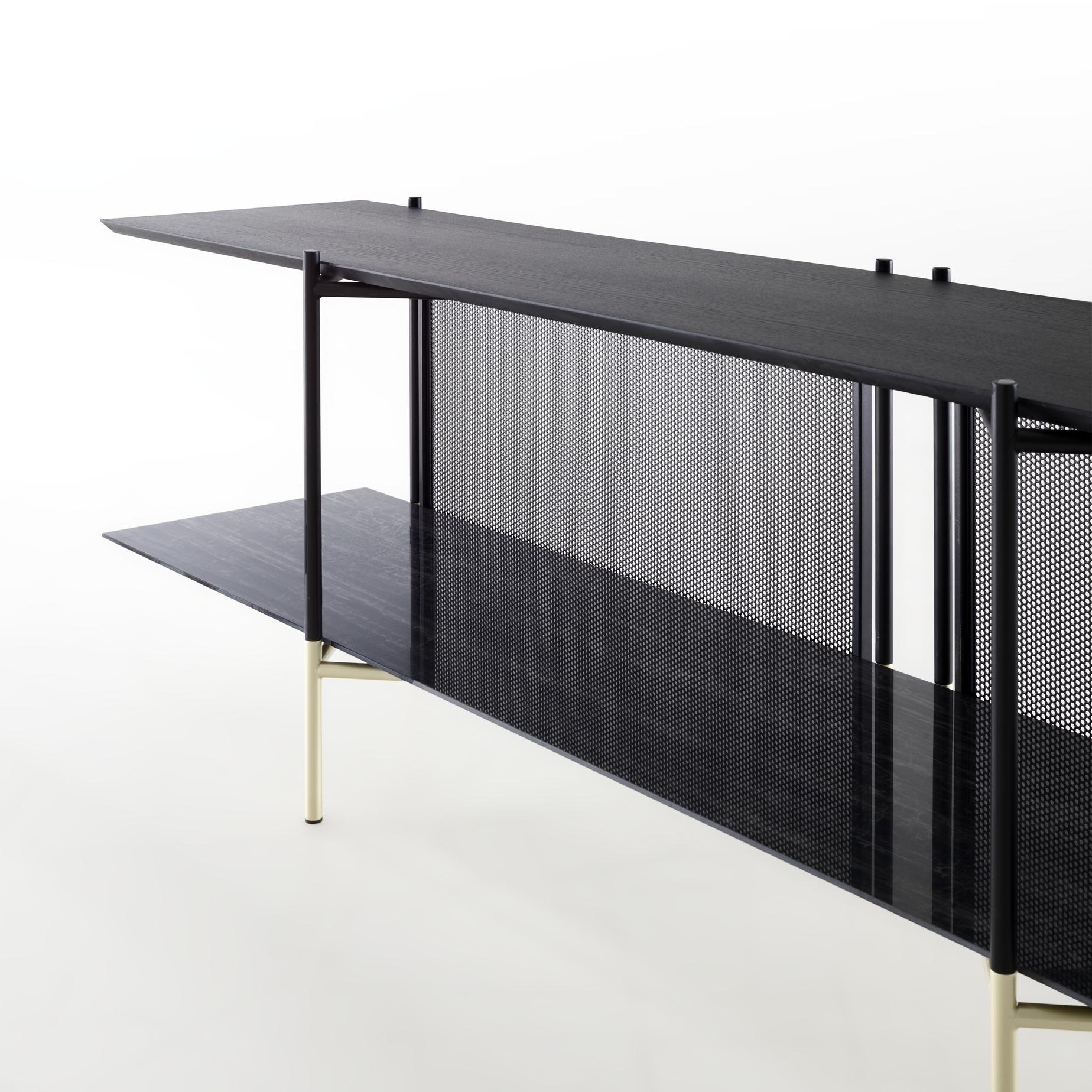 Blennemann Duisburg clyde, media storage from designer : numéro111 | ligne roset