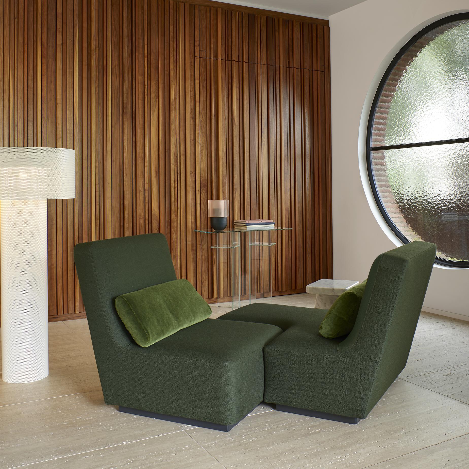 Super Confluences 2 Sofas From Designer Philippe Nigro Ligne Pabps2019 Chair Design Images Pabps2019Com