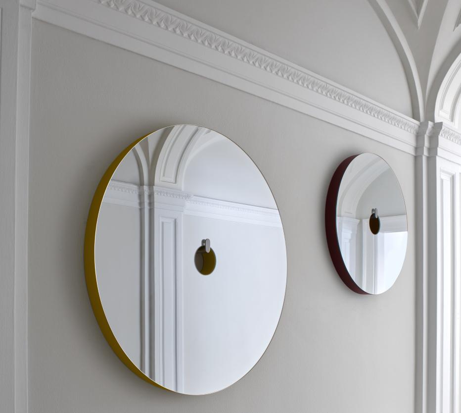 mirror ura entrance from designer pierre charpin. Black Bedroom Furniture Sets. Home Design Ideas