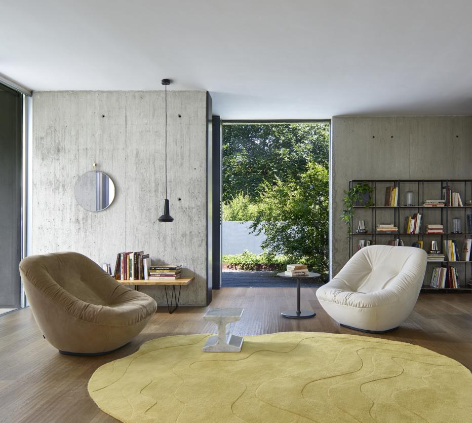 elysee tables basses du designer pierre paulin ligne roset site officiel. Black Bedroom Furniture Sets. Home Design Ideas