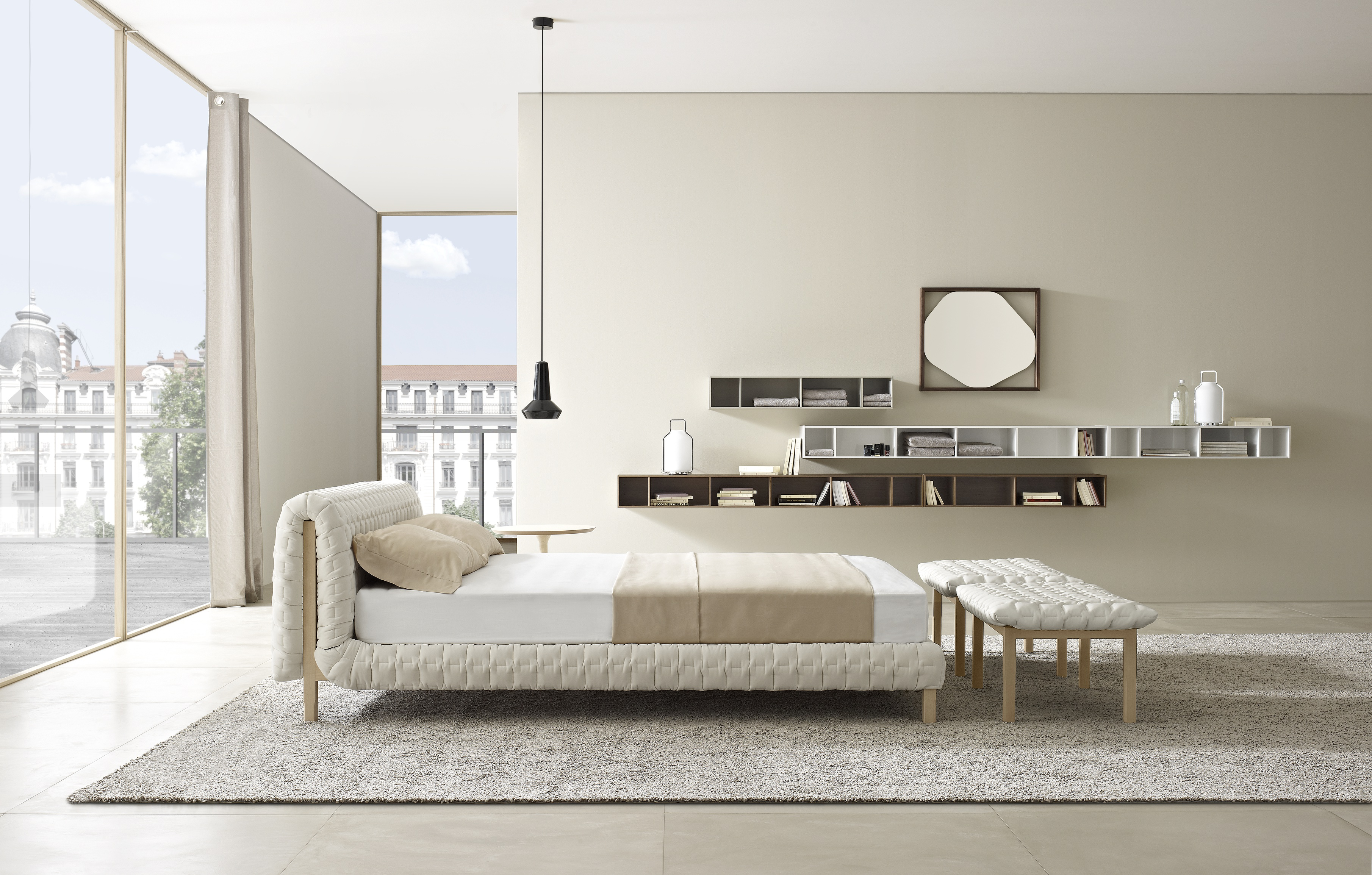 ruch lits du designer inga semp ligne roset site officiel. Black Bedroom Furniture Sets. Home Design Ideas