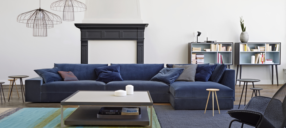 exclusif sofas from designer didier gomez ligne roset official site. Black Bedroom Furniture Sets. Home Design Ideas