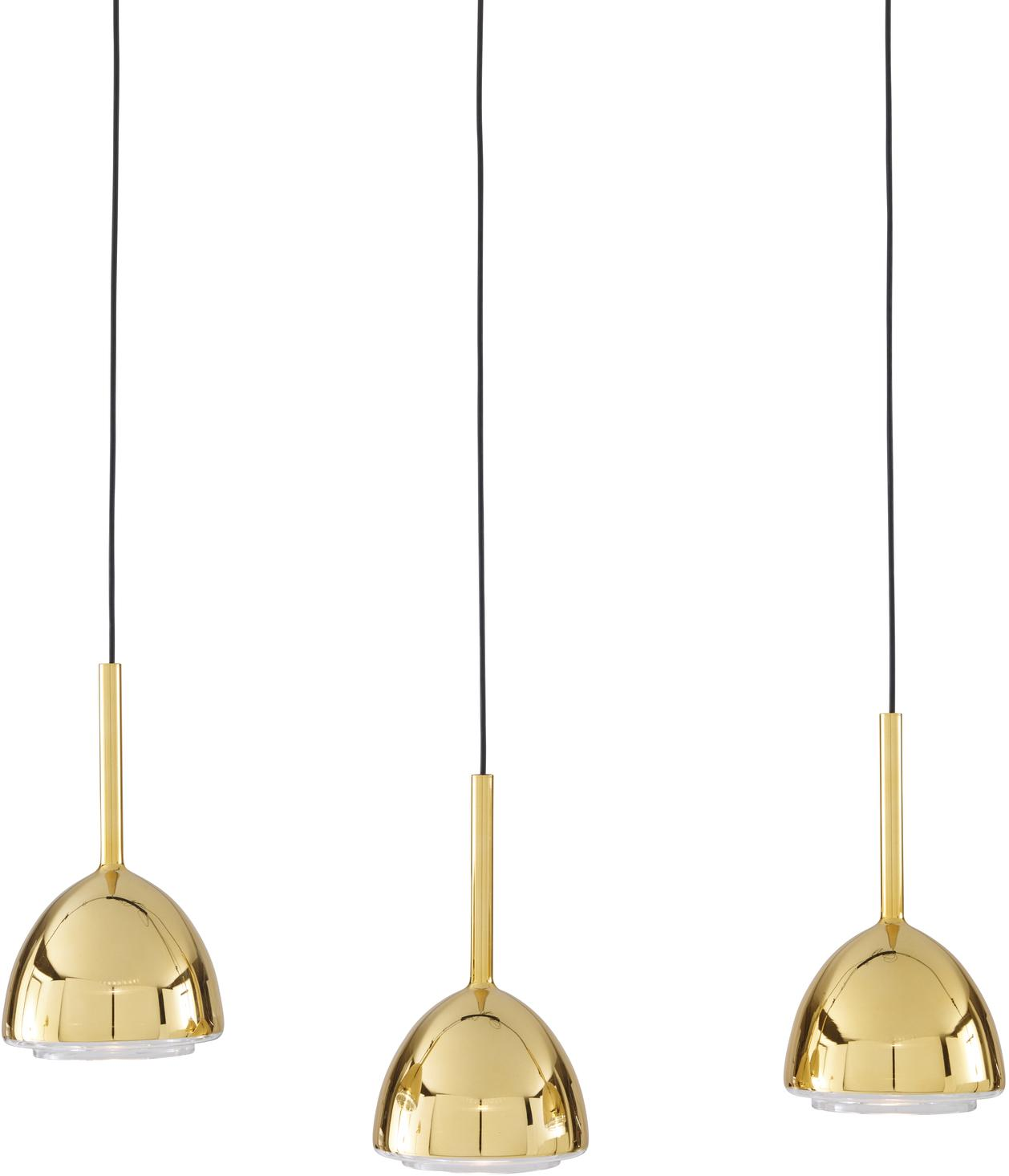brass bell suspension from designer patrick zulauf. Black Bedroom Furniture Sets. Home Design Ideas