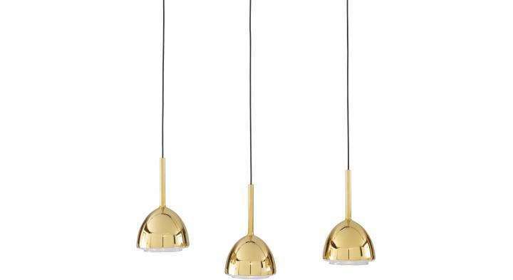 Brass bell suspension designer patrick zulauf ligne roset - Suspension ligne roset ...