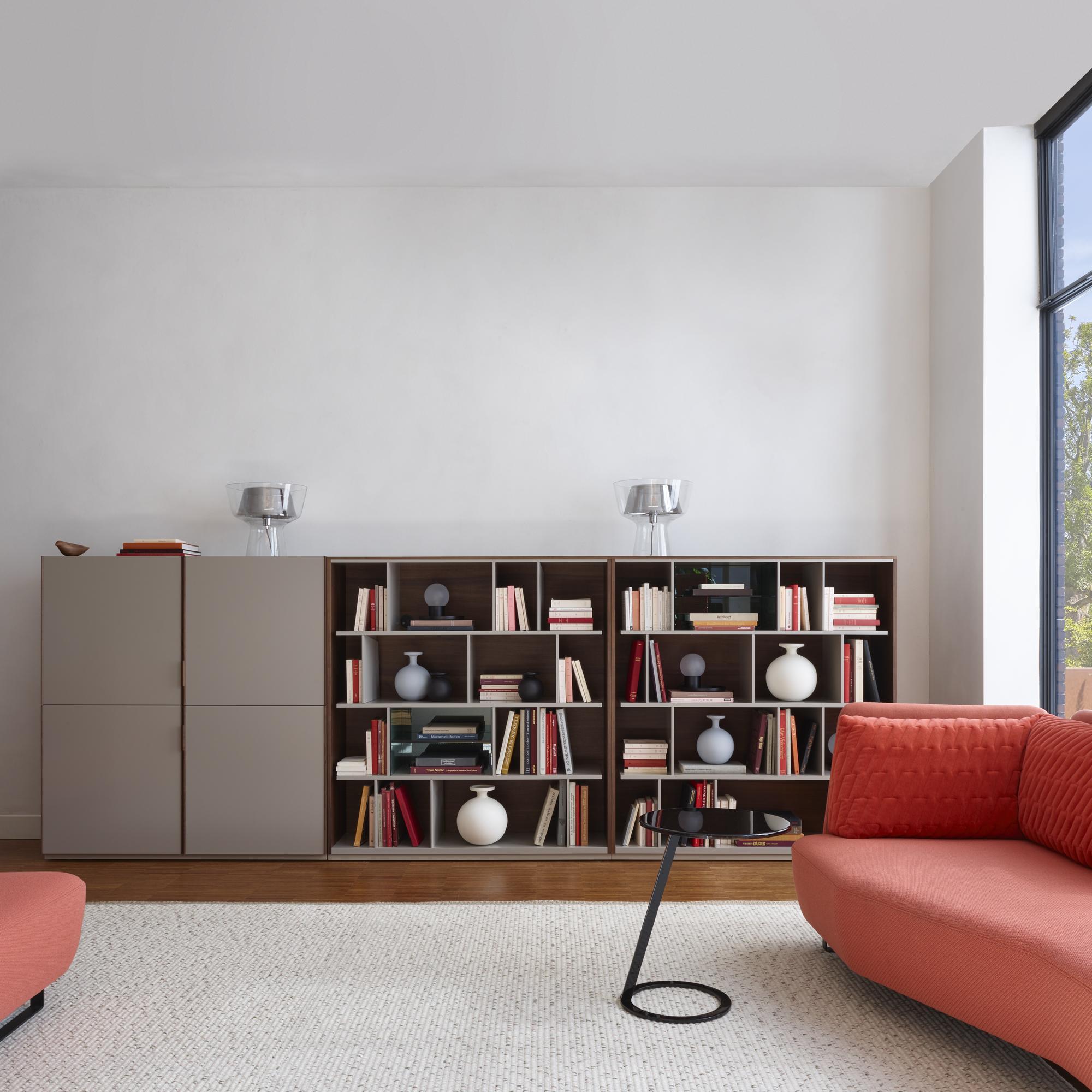 Canaletto Living Room Units From Designer Mauro Lipparini